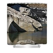 Valle Maggia Shower Curtain