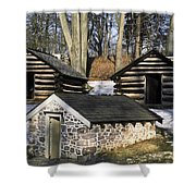 Valley Forge Winter Shower Curtain