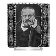 Victor Hugo, French Author Shower Curtain
