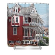 Victorian Afternoon Cape May Shower Curtain