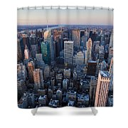 View From Empire State Building Shower Curtain