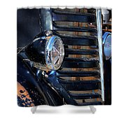 Vintage Car Grill Shower Curtain