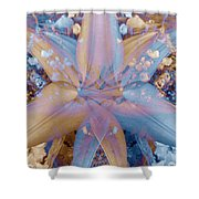 Vintage Lily Shower Curtain