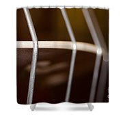 Violoncello Shower Curtain