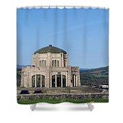 Vista House At Crown Point Shower Curtain