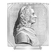 Voltaire (1694-1779) Shower Curtain