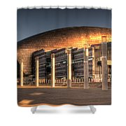 Wales Millenium Centre Shower Curtain