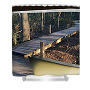 Walk Bridge Shower Curtain