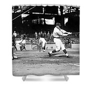 Walter Perry Johnson Shower Curtain