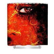 Watchful Spirit Shower Curtain