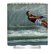 Water Skiing Magic Of Water 28 Shower Curtain