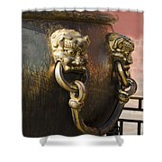 Water Vessel At Forbidden City Shower Curtain