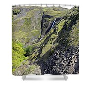 Waterfalls Of Table Mountain Shower Curtain