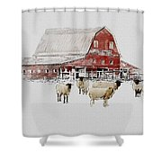Weatherbury Farm Shower Curtain