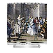 Wedding, C1730 Shower Curtain