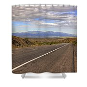 West Into California Shower Curtain