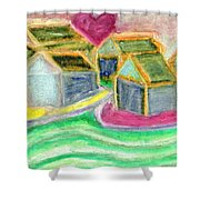 Where Mother Lives  Shower Curtain