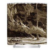 Whirlwinds, 1873 Shower Curtain