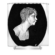 Wild Boy Of Aveyron Shower Curtain