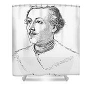 Wilhelm Mueller (1794-1827) Shower Curtain