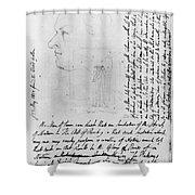 William Blake (1757-1827) Shower Curtain