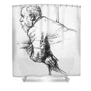 William Ernest Henley Shower Curtain