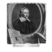 William Harvey, English Physician Shower Curtain