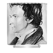 William Hazlitt (1778-1830) Shower Curtain