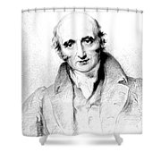 William Hyde Wollaston, English Chemist Shower Curtain