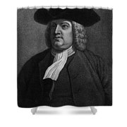 William Penn, Founder Of Pennsylvania Shower Curtain