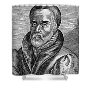 William Tyndale Shower Curtain by Granger