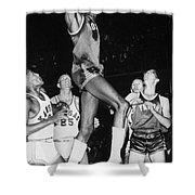 Wilt Chamberlain (1936-1999) Shower Curtain