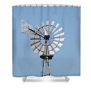 Windmill II Shower Curtain