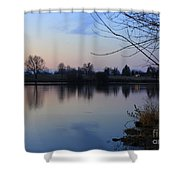 Winter Calm Shower Curtain