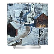 Winter Countryside Shower Curtain