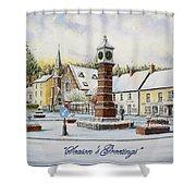 Winter In Twyn Square Shower Curtain
