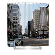 Wisconsin Ave 1 Shower Curtain