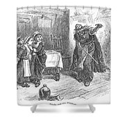 Witch Trial: Tituba, 1692 Shower Curtain by Granger