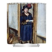 Woman: Voting, 1920 Shower Curtain