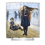 Womens Fashion, 1886 Shower Curtain