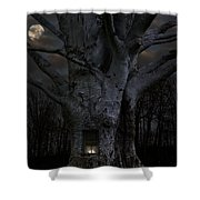 Woodland Home Shower Curtain