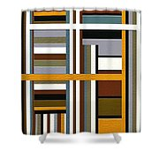 Work Shower Curtain by Ely Arsha