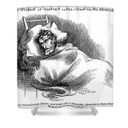 Wounded John Brown, 1859 Shower Curtain