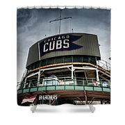 Wrigley Field Bleachers Shower Curtain