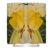 Yellow Fantasy Shower Curtain