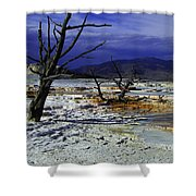 Yellowstone National Park 6 Shower Curtain