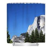 Yosemite Half Dome Shower Curtain