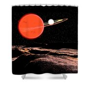 Zeta Piscium Is A Binary Star System Shower Curtain