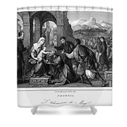 Adoration Of Magi Shower Curtain