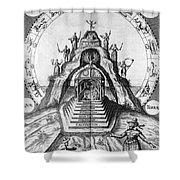 Alchemy Illustration Shower Curtain
